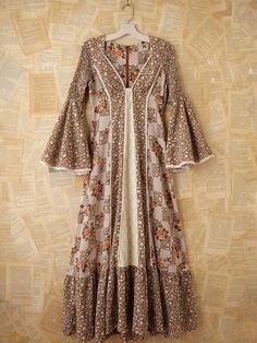 Free People Vintage Floral Peasant Maxi Dress, $0.00