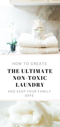 Create the ultimate eco-friendly laundry room with these top tips. Natural laundry detergents, non-toxic bench sprays and other environmentally safe hacks for a naturally clean laundry.