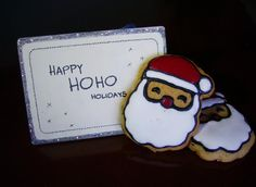 Christmas cookies #cookies #Christmas #hoho #Santa #cute