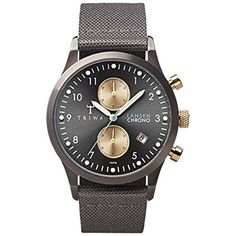 Triwa LCST101 Grey Walter Lansen Chrono Men's Watch by Triwa -- Awesome products selected by Anna Churchill