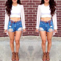 Shorts altos