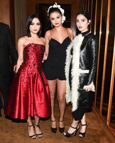 Vanessa Hudgens, Selena Gomez, and Jillian Banks at Yahoo Style's Met Gala After Party. See all the outfits at the Met gala after parties.