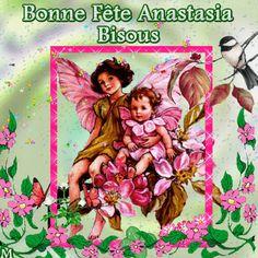 Gifs Bonne Fête prénom Anastasia - 10 mars