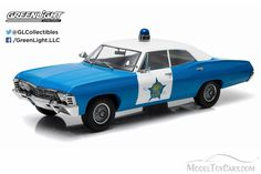 Greenlight Artisan Collection 1967 Chev Biscayne Chicago Police
