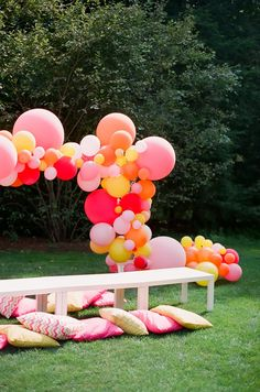 Balloon Party Decor!