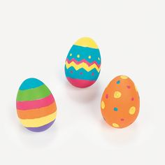 Design Your Own Ceramic Eggs - OrientalTrading.com
