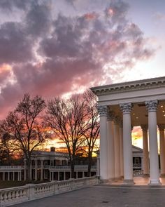 University Of Virginia, Charlottesville, Mansions, House Styles, Home Decor, Decoration Home, Manor Houses, Room Decor, Villas
