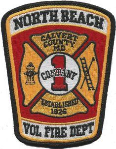 North Beach Volunteer Fire Department Logo