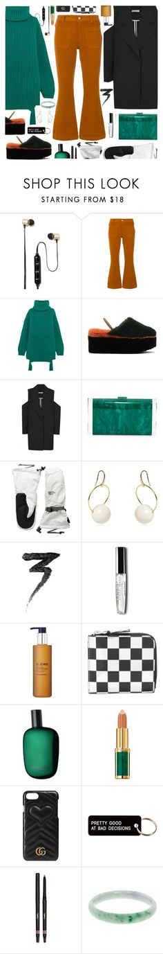 """See by Chloé cropped corduroy trousers"" by laste-co ❤ liked on Polyvore featuring Polaroid, See by Chloé, Balenciaga, Fendi, Edie Parker, The North Face, Marni, Manic Panic NYC, Elemis and Comme des Garçons"