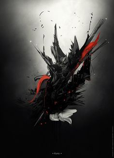 Cool Digital Art by Maxime des Touches