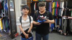 【新宿2号店】2014.05.26 バッシュをお買い上げ頂きました(^o^)またのご来店お待ちしております♪