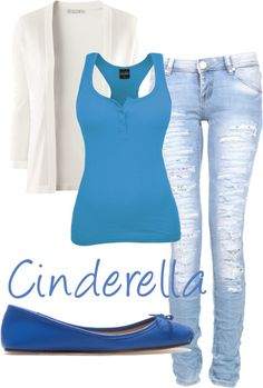"""Cinderella's teen outfit"" by loonylunalovegood on Polyvore"