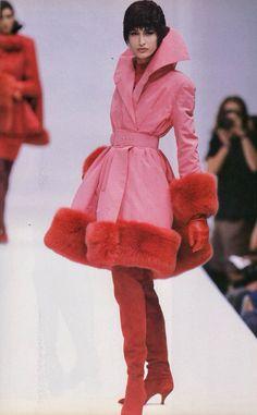 Fashion Dolls and Fashion Scans, Irene Galitzine Alta Moda A/W Grunge Look, 90s Grunge, Grunge Style, Soft Grunge, Grunge Outfits, Fashion Mode, 90s Fashion, Couture Fashion, High Fashion