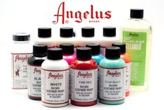 How to customize shoes with Angelus Leather Paint and Finisher