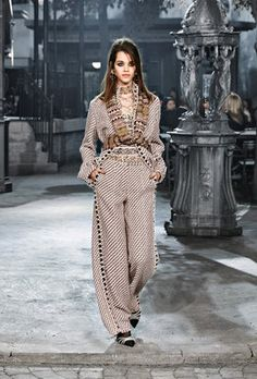 8c4a5341cdf965 Karl Lagerfeld brought a piece of Paris to Rome, Italy, for Chanel s pre-fall  Métiers d Art collection. Less than a month after the tragic Paris terror…