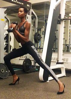 Maria Borges - click through to see how more Victoria's Secret models work out!