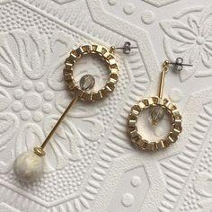 asymmetry pierce (earring イヤリング) | Rire Vie (リールヴィー)