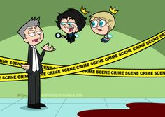Lestrade with Sherlock & John: the Fairly Odd Detectives. omg! this is so cool! XD