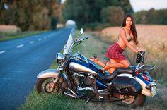 Biker Girl - Biker Chick - Biker Babe -
