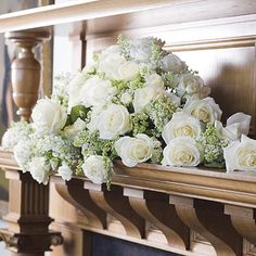 Image result for mantelpiece wedding bouquet