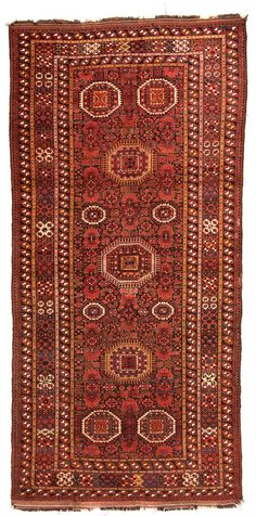 Ersari Beshir 365 x 173 cm (12ft. x 5ft. 8in.) Turkmenistan second half 19th century