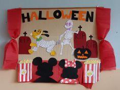Halloween classroom board