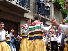 Danzadores de los Zancos de Anguiano La Rioja.Stilt dancers of Anguiano.