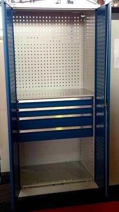 Werkstattschrank für jedes Unternehmen oder Handwerker - Stahlmöbel DIVIKOM Business