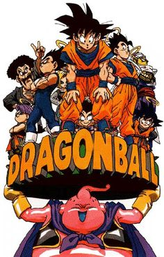 Never saw this pic!! Everybody's dead except Goku, Mr. Satan and Buu
