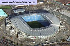 City of Manchester Stadium, Manchester City Man City Stadium, City Of Manchester Stadium, Blackburn Rovers, European Soccer, Manchester England, Football Stadiums, North West, United Kingdom, Places