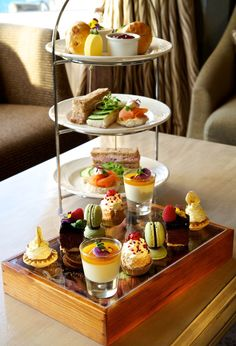 Afternoon Tea at Best Western Glendower hotel www.glendowerhotel.co.uk