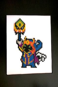 LOL-League-of-Legends-Final-Boss-Veigar-Perler-bead-pixel-framed-3D-design