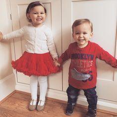 """""""My two angels ❤️❤️ #emiliaandeduardo #balletday #brotherandsister #bestfriendsforever"""""""