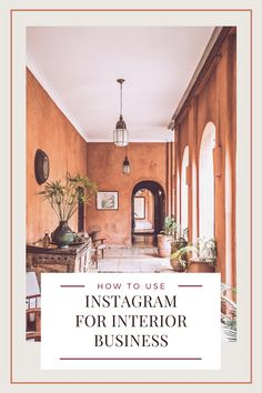 The Ultimate Guide on How to Use Instagram Account for Interior Business  From getting your account set up right to answering the ever-present question 'What should I post today?!' Interior Design Instagram, Interior Design Guide, Interior Design Studio, Interior Decorating, Instagram Apps, Instagram Accounts, Post Today, Marketing Tools, Hana