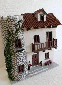 1 million+ Stunning Free Images to Use Anywhere Putz Houses, Clay Houses, Ceramic Houses, Miniature Houses, Fairy Houses, Rock Crafts, Diy Arts And Crafts, Glow Table, Pottery Houses