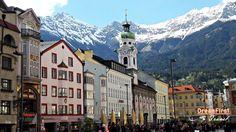#Innsbruck #Austria #Tirol #Alps Innsbruck, Alps, San Francisco Ferry, Austria, World, Building, Travel, The World, Construction