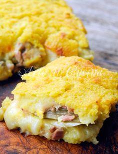 Schiacciata di patate tonno e carciofi ricetta facile vickyart arte in cucina