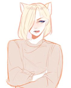 Yurio is a grumpy kitty