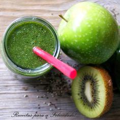 Green smoothie de espinafres, kiwi e maçã verde | SAPO Lifestyle