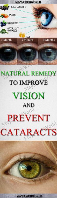 Natuurlijke remedie om het gezichtsvermogen te verbeteren en cataract te voorkomen - MayaWebWorld