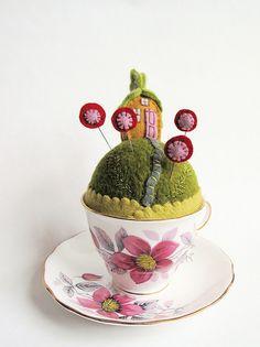 tiny world fairy house by Mimi Kirchner