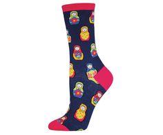 Russian Matryoshka Nesting Doll Socks | TheBeardedBee