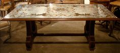 Beautiful eglomise dining table