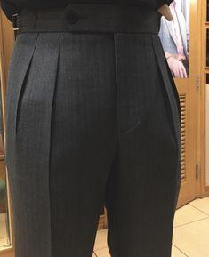 Finest trouser super crisp ✂️ is part of Mens fashion casual - Mens Pleated Trousers, Men Trousers, Mens Dress Pants, Men's Pants, Mens Fashion Wear, Suit Fashion, Fashion Pants, Style Fashion, African Men Fashion