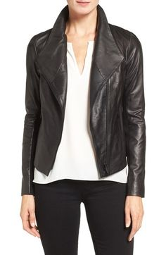 Classiques Entier® Leather Jacket available at #Nordstrom