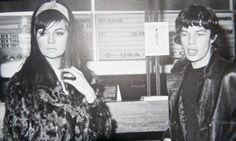 Chrissie Shrimpton Chrissie Shrimpton, Jean Shrimpton, Steel Wheels, Mick Jagger, Classic Rock, Rolling Stones, Style Icons, Famous People, Girlfriends