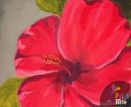 Hibiscus 2 at Hightopps - Paint Nite Events