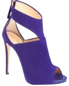Giuseppe Zanotti T Strap Purple Sandals $240