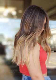Brunette Ambition, Blond, Balayage Ombre, Awesome Hair, Hair Painting, Cool Hairstyles, Long Hair Styles, Photo And Video, Beauty