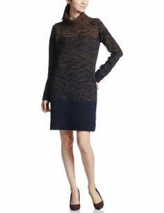 Amazon.co.jp: (ビューティーアンドユースユナイテッドアローズ) BEAUTY&YOUTH UNITED ARROWS BYBC グラデーションタートルネックニットワンピース/ホワイト・ブラウン: 服&ファッション小物
